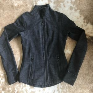 Lululemon Black Denim Define Jacket sz4